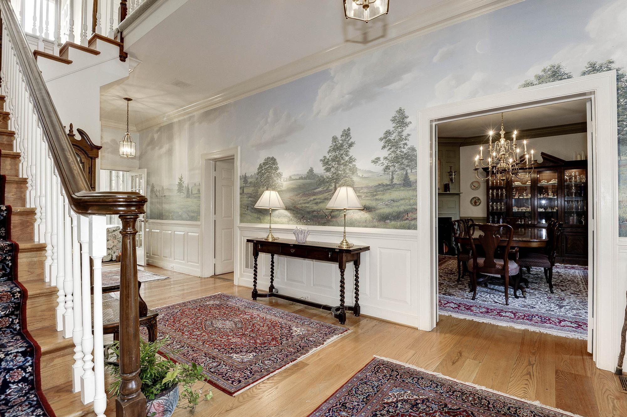 Office Off Foyer : Thomas talbot exclusive real estate middleburg virginia